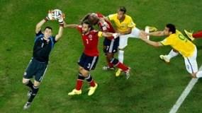 Σκηνή σύγχρονης ποδοσφαιρικής χορογραφίας