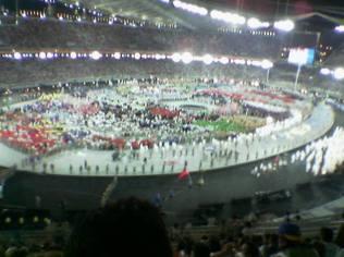 Φωτογραφία από τη θέση μας στο Ολυμπιακό Στάδιο - 2.