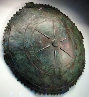 Μπρούζινη ἀσπίδα του Φαρνάκη, Βασιλέως του Πόντου, 2ος π.Χ. αἰών.