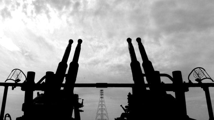 Guns and energy.