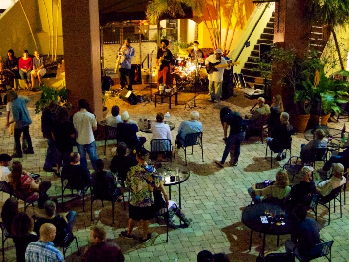 Live music tonight on the patio at The Ale and the Witch tap bar.