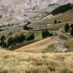 The ride from Quito to Lake Quilotoa is an incredible adventure through the rolling hills.