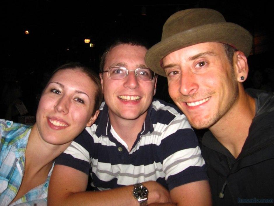 Lauren, Tristan, and I at Sing Sing in Denver!