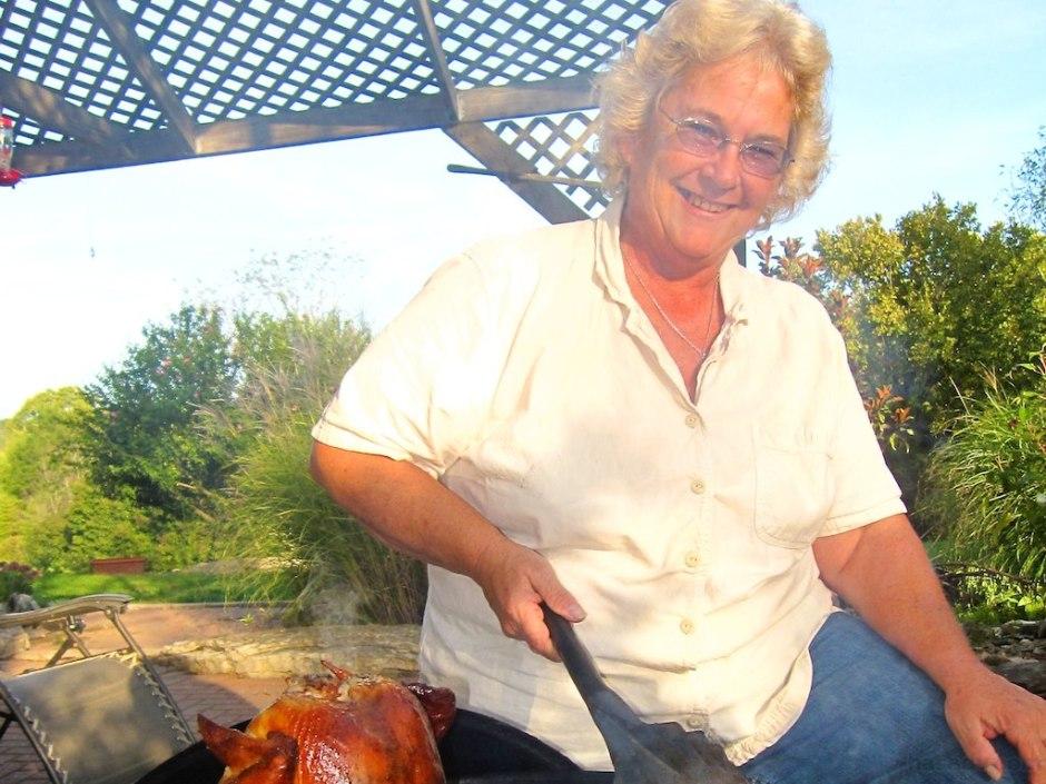 Rhonda and the drunken chicken!