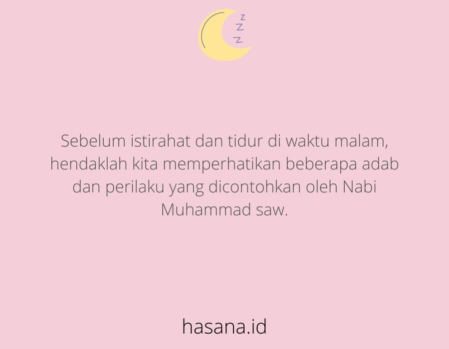 doa tidur islam