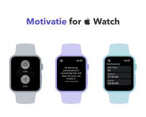 Motivatie is now on your wrist!