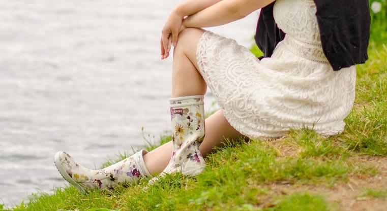 Aigle Gummistiefel Kleid