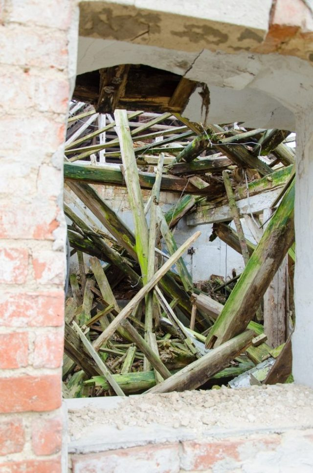 Kummerow Schloss eingestürzt