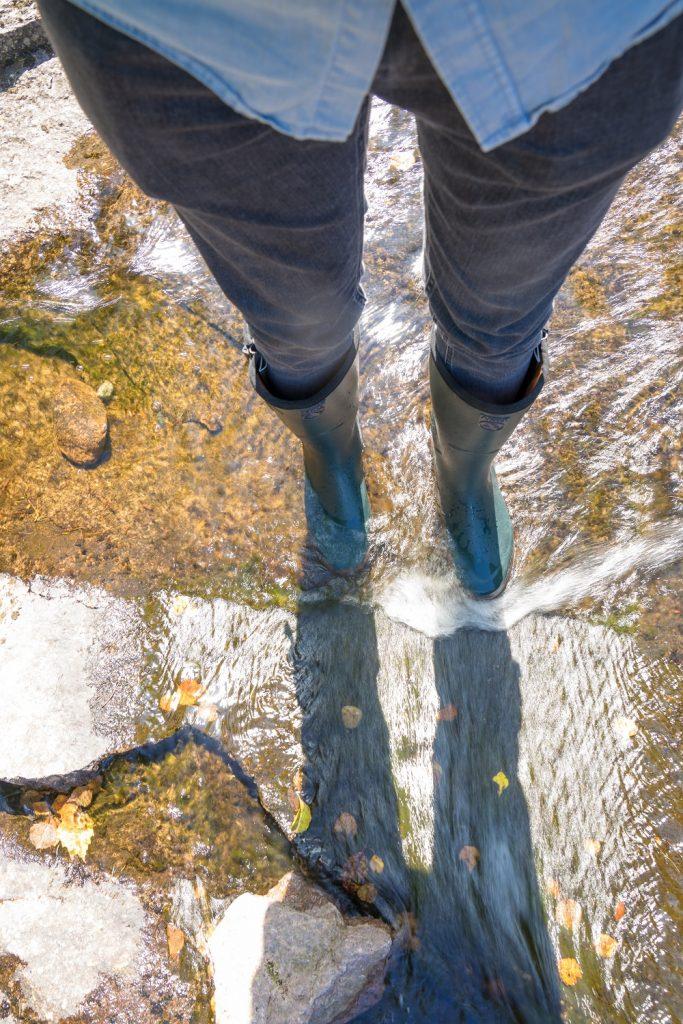 Gummistiefel Aigle Fluss 2