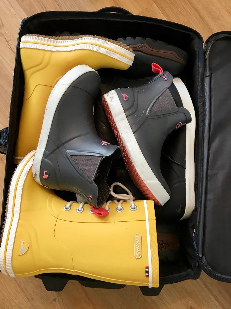 Gummistiefel Koffer