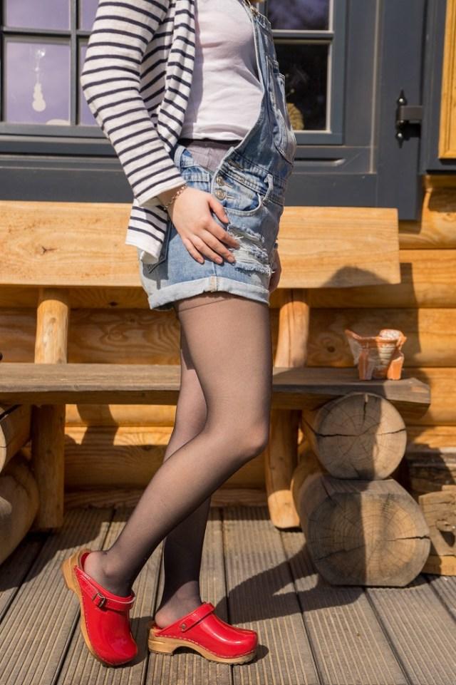 Holzclogs Clogs Sanita Frühling 2