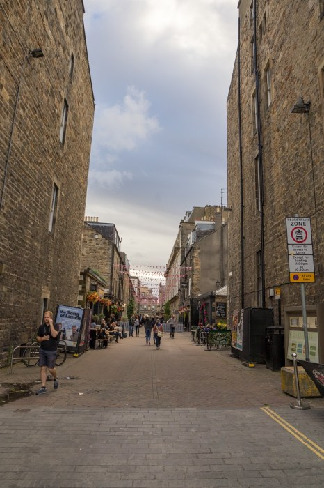 Schottland Edinburgh New Town Rose Street