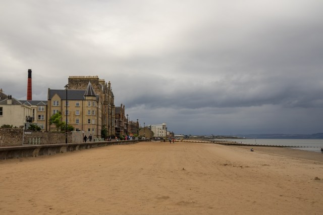 Schottland Edinburgh Portobello Beach