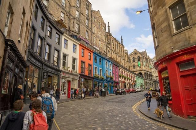 Schottland Ednburgh Old Town