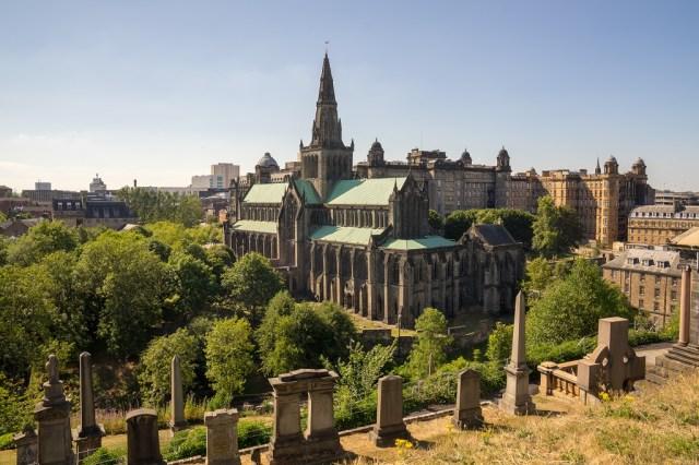 Schottland Glasgow Cathedral