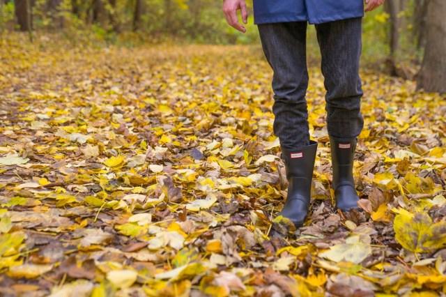 Hunter Short Wald Herbst