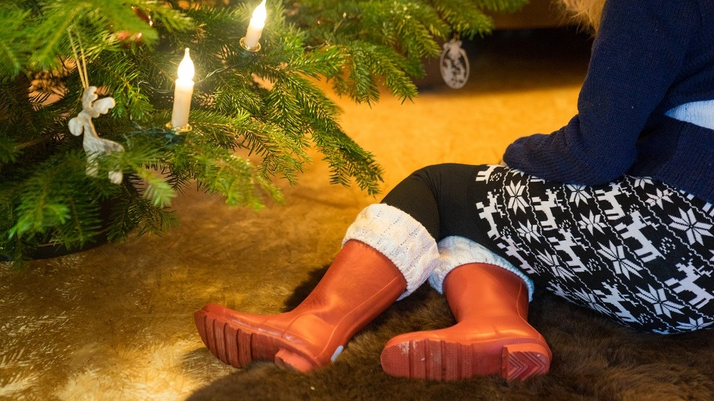 Gummistiefel Weihnachten Hunter Geschenk
