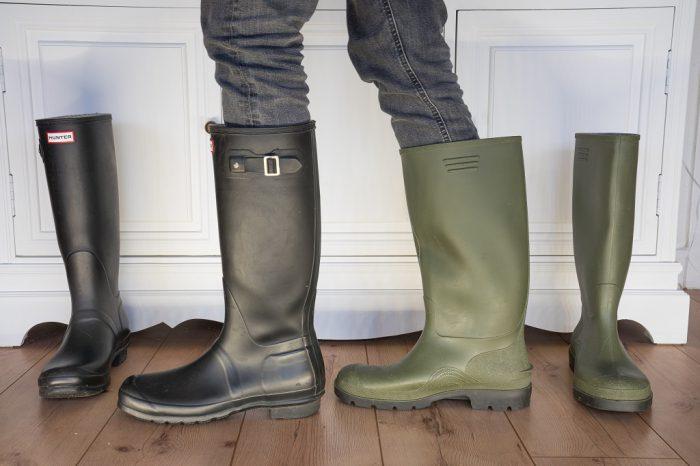 Gummistiefel für schlanke Beine Hunter Dunlop