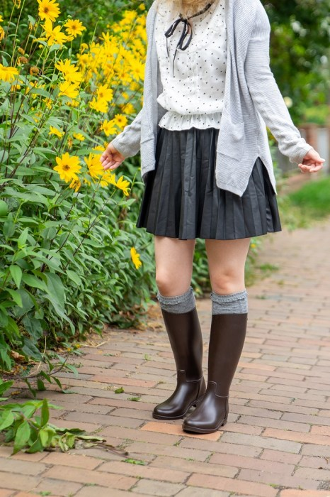 Reitstiefel Outfit Herbst
