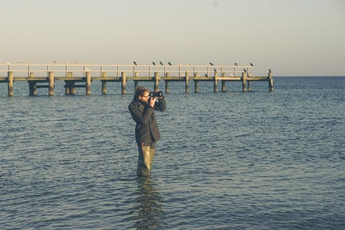 Nora River Watstiefel Gummistiefel Fotograf Ostsee Meer 1