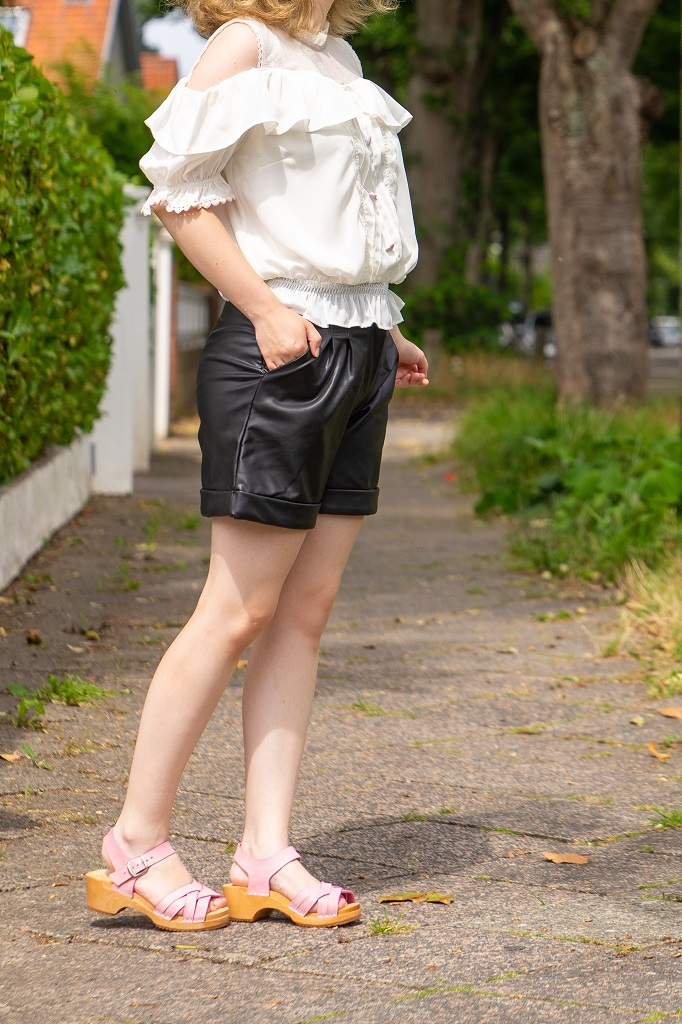 me&myClogs Annika Outfit Holzsandalen