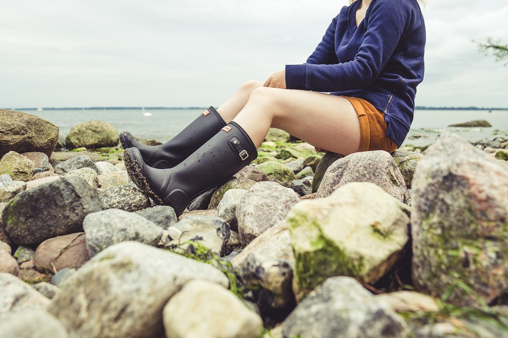Hunter Gummistiefel Travemünde Sommer Outfit Pullover
