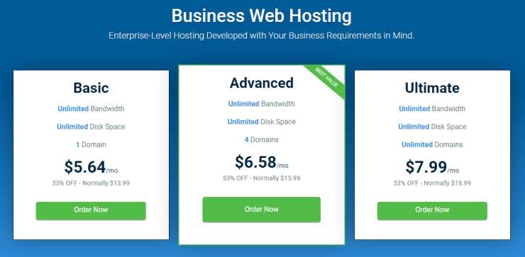 Business Web Hosting - Hostwinds Review