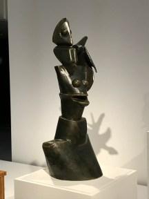 L'imbecile by Max Ernst