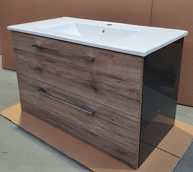 szafka z umywalką 90 cm