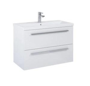 szafka z umywalką kwadro 80 white