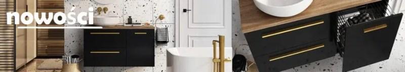 nowości w sklpie tanie meble łazienkowe