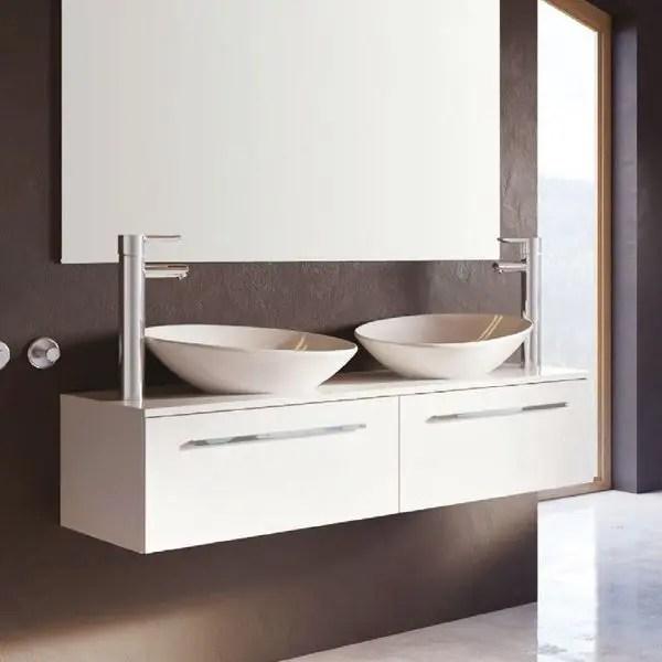 szafka łazienkowa 160 cm z blatem pod umywalkę nablatową