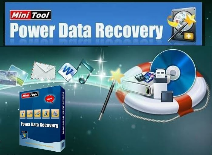 MiniTool Power Data Recovery 9.1 With Crack