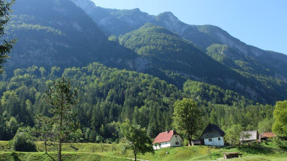 Slowenien Soca-Tal