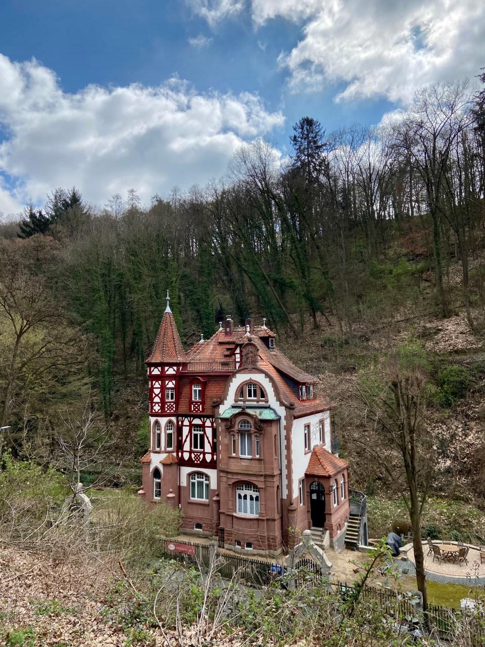 Balkhausen - Felsenberg - Tannenberg - Schloss Heiligenberg
