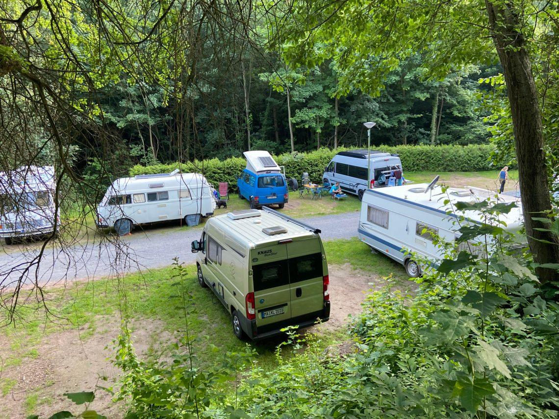 Campingplatz Wappenschmiede in St. Martin