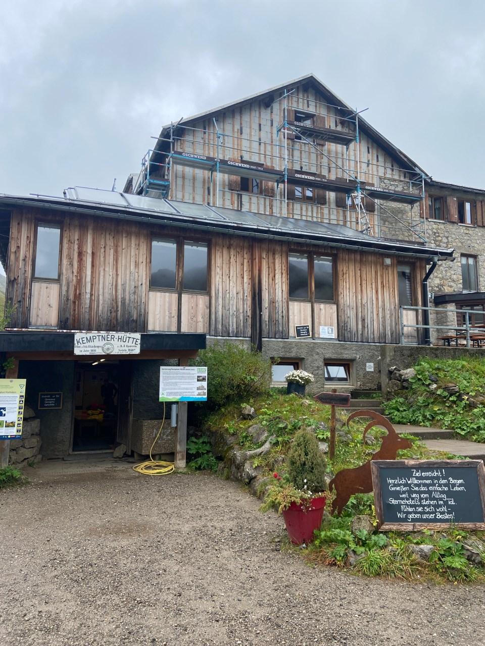 E5: Von Oberstdorf über Kemptner Hütte nach Madau