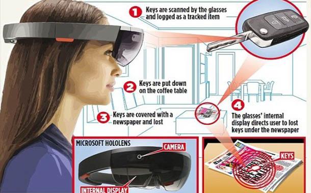 مايكروسوفت تُصدر نظارات تساعدك على إيجاد أغراضك المفقودة