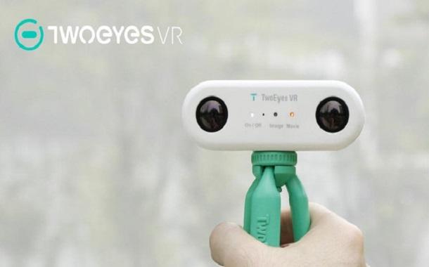 أول كاميرا للواقع الإفتراضي بعدسة ثنائية