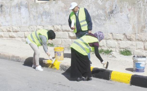 #الأردن_حقك_علينا.. حملة لتجميل الأماكن في المملكة