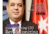 الهناندة يحصد جائزة أفضل رئيس تنفيذي للعام 2016