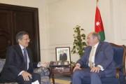 الملقي يستقبل رئيس مجلس ادارة شركة اكوا باور