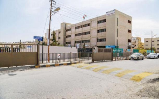 إحدى المدارس المشمولة في حملة السلامة على الطريق لتوتال الاردن - (من المصدر)