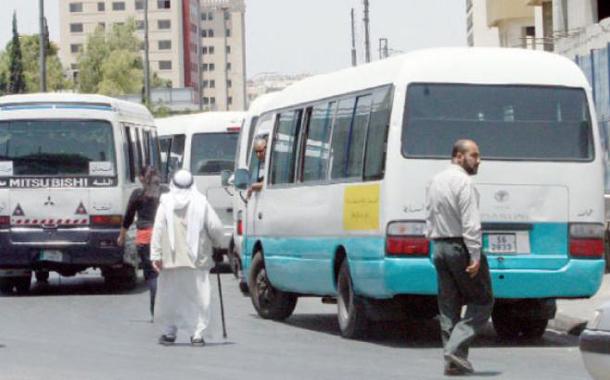 حافلات لنقل الركاب في عمان - (الغد)