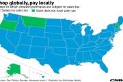 أمازون تبدأ بتحصيل الضرائب على المبيعات في كامل أمريكا