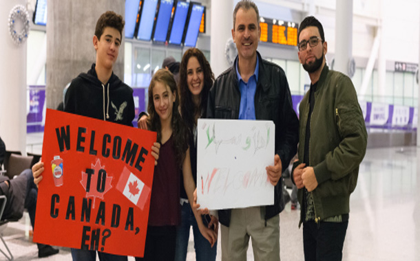 Syrian Refugees Arrival