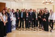 ولي العهد يلتقي عدداً من الشباب والشابات الأردنيين المتميزين