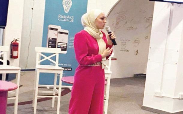 ريادية أردنية تبتكر تطبيقا يساعد المواطنين باستخدام وسائل النقل العام وتقييمها