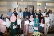 وزارة الثقافة تكرم الفائزين بجوائز مسابقة الابداع الشبابي للعام 2017