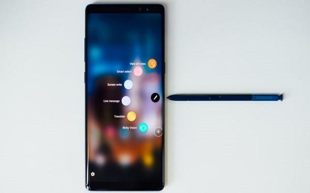أبرز مزايا القلم الضوئي S Pen في هاتف نوت 8